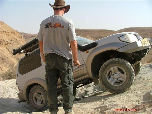 הדרכת נהיגה בשטח - טרשי