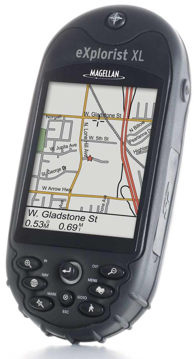 מגלן GPS MAGELLAN Explorist XL