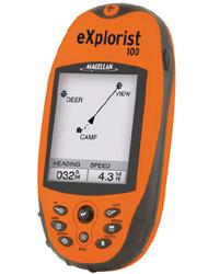 מגלן אקספלוריסט GPS MAGELLAN Explorist 100