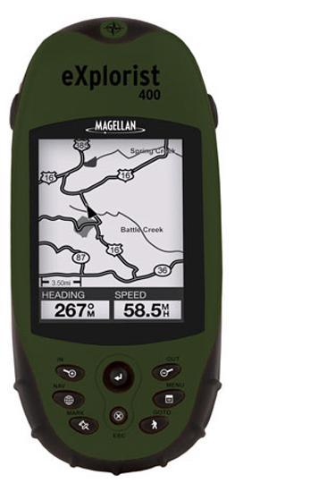 מגלן אקספלוריסט GPS MAGELLAN Explorist 400