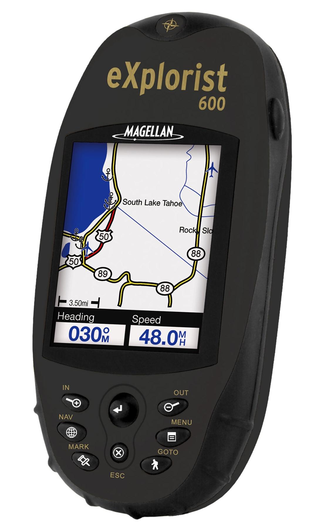 מגלן אקספלוריסט GPS MAGELLAN Explorist 600