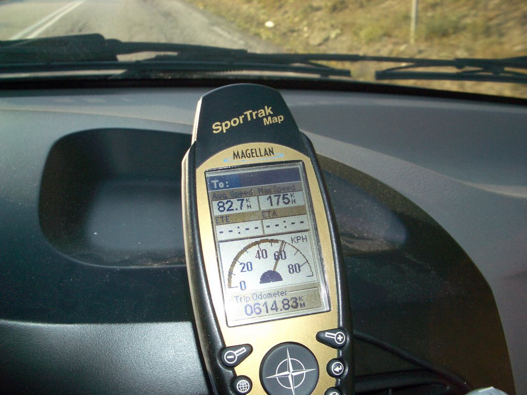 מקלט מגלן ספורטרק מאפ GPS Magellan Sportrak Map