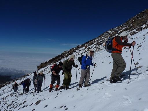 טיפוס הרים - מסעות