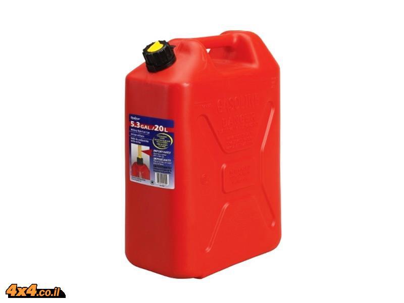 ג'ריקן מיכל דלק 20 ליטר