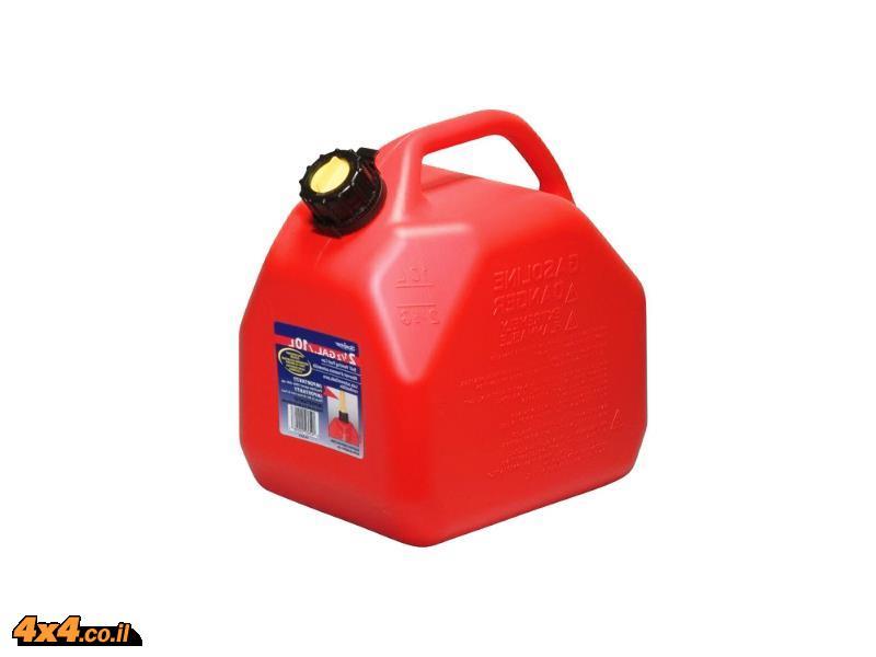 ג'ריקן מיכל דלק 10ליטר