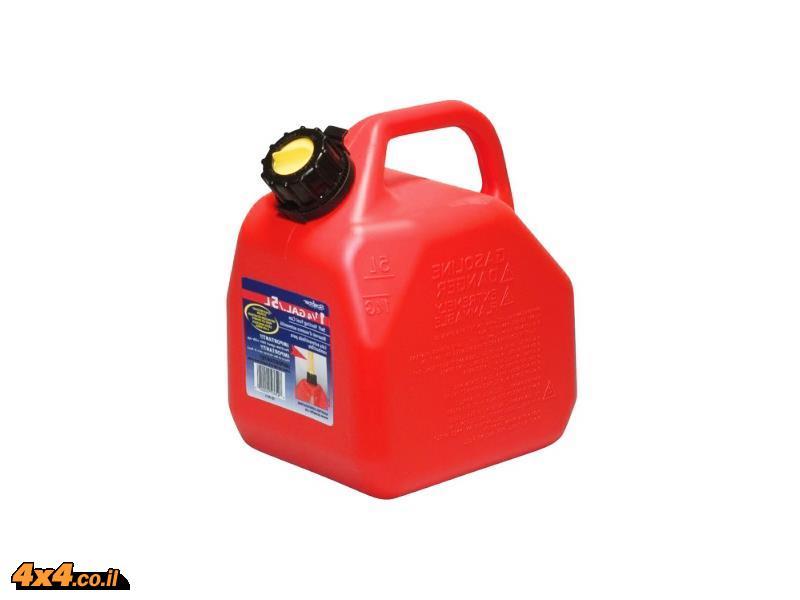 ג'ריקן מיכל דלק 5 ליטר