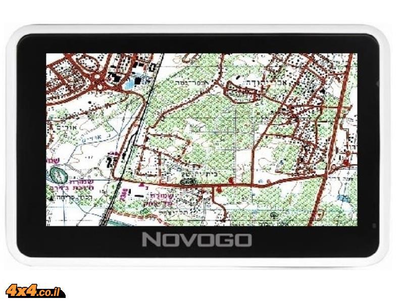 NOVOGO מערכת ניווט GPS הכוללת תוכנת ניווט שטח Naviguide ותוכנת ניווט עירוני IGO