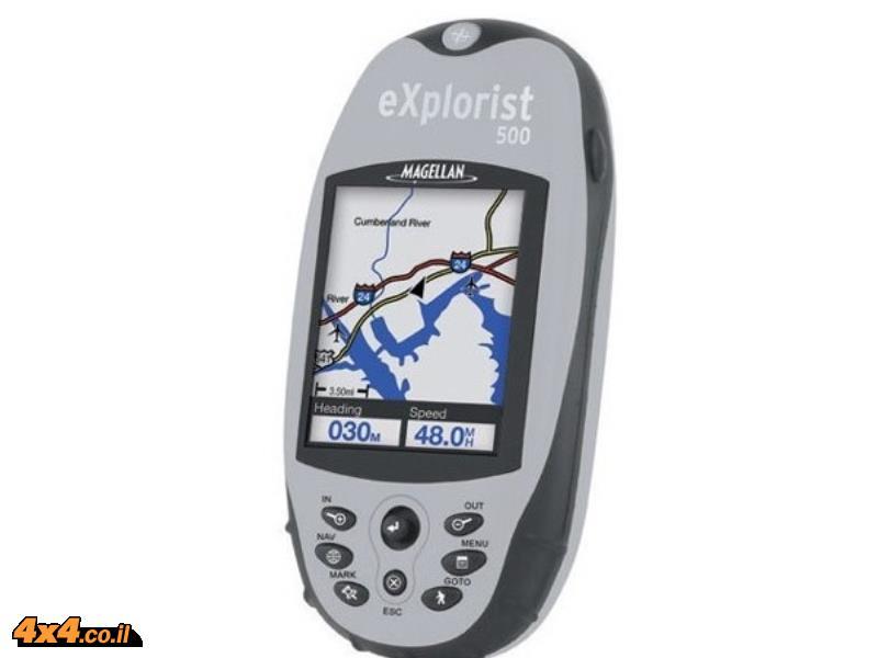 מגלן אקספלוריסט GPS MAGELLAN Explorist 500