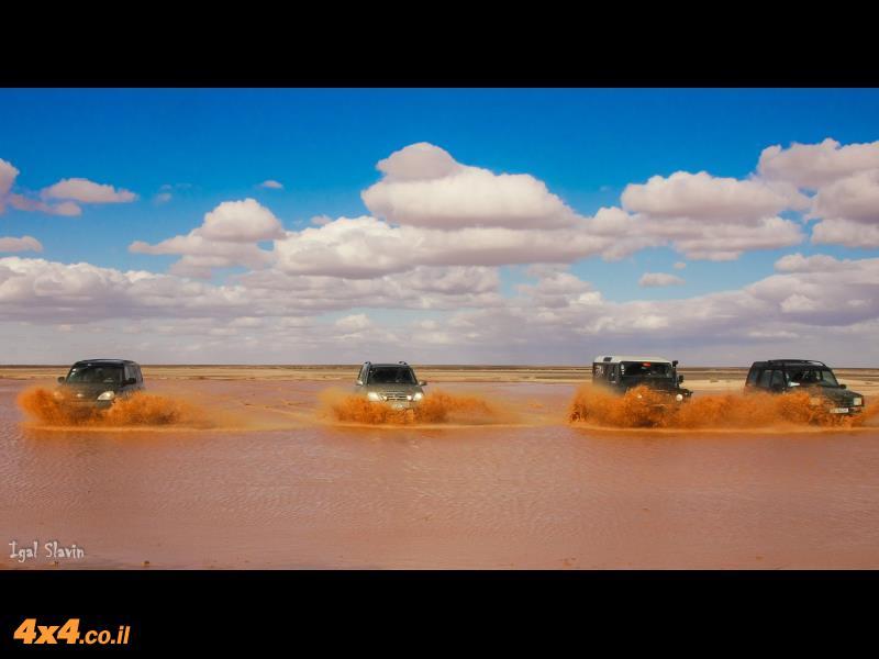 מזרח ירדן, 4 ימים: מסע ג'יפים  - המדבר הערבי והמצודות