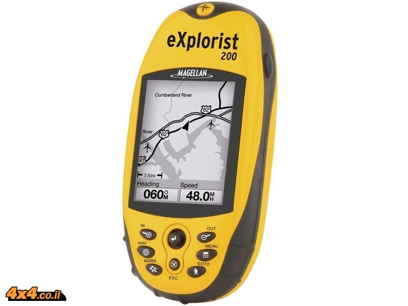 מגלן אקספלוריסט GPS MAGELLAN Explorist 200