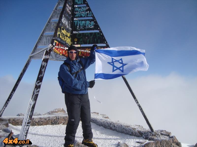 טובקל 4,176 מ' טיפוס לפסגת הרי האטלס - מרוקו