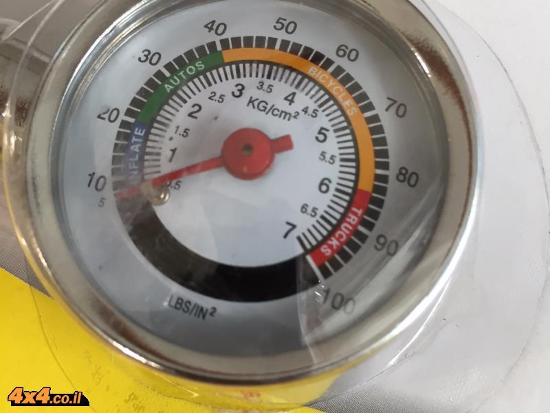 מד לחץ אוויר - שעון מתכת