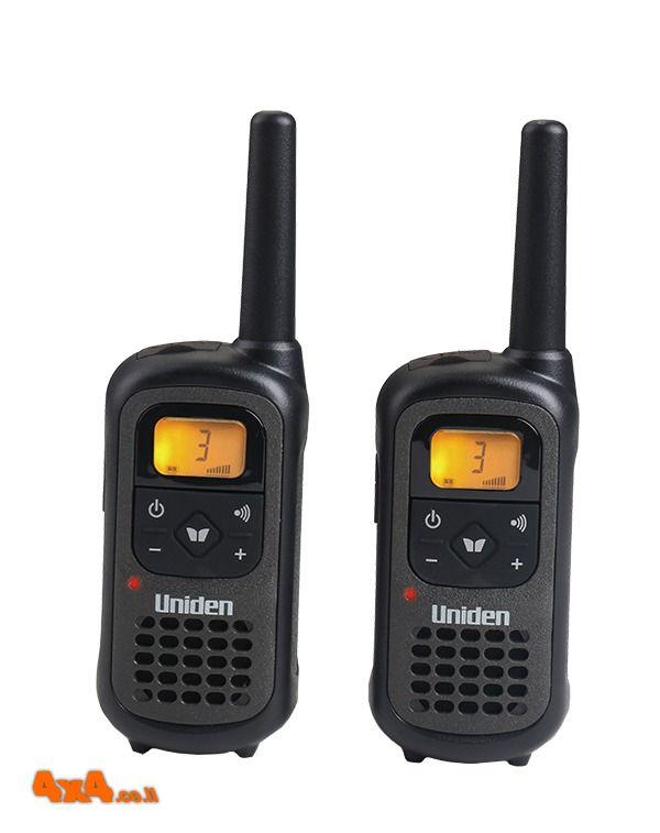 זוג מכשירי קשר ווקי טוקי Uniden 8