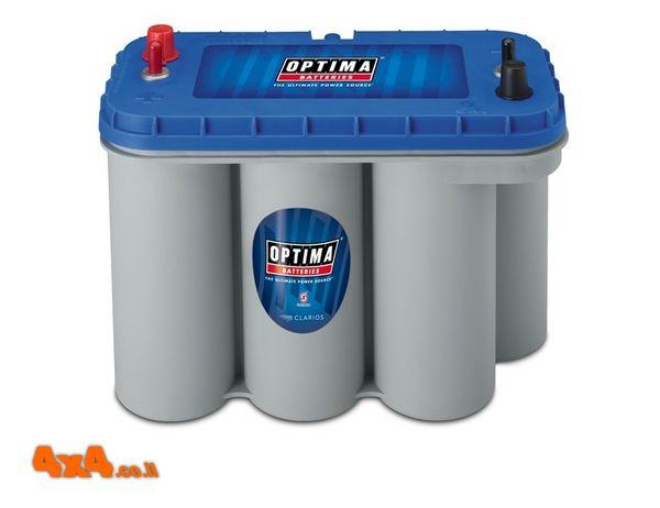 Blue top - מצבר אופטימה כחול  - 66 אמפר