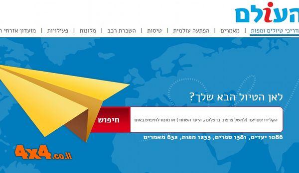 הנחה של 15% לכל המפות בעולם לגולשי אתר השטח הישראלי